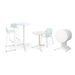 OUTDOOR Gamme tables hautes...