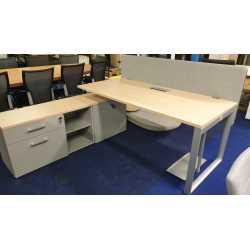 MDD Bureau L 180 + meuble...