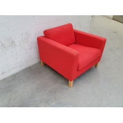 RED Fauteuil 1 place tissu
