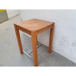 MASSIF Table haute carrée