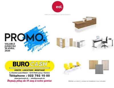 Promotion EOL valable jusqu'au 30.04.2020